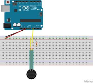 force sensitive resistor circuitry