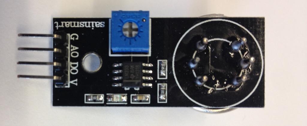 Interfacing MQ2 to Arduino-MQ2 Gas and Smoke Sensor